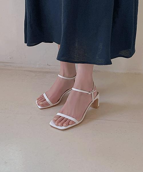 Dandelion Square Strap Sandals