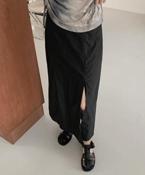 Linka Slit Skirt
