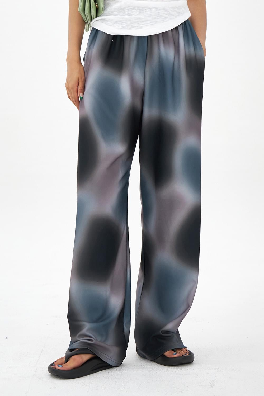 Water painting banding Pants