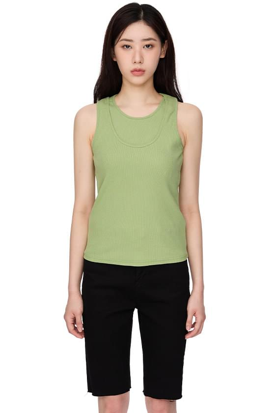 double stretch tank top