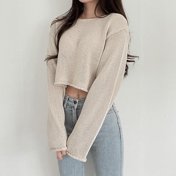 Neron Crop Knitwear
