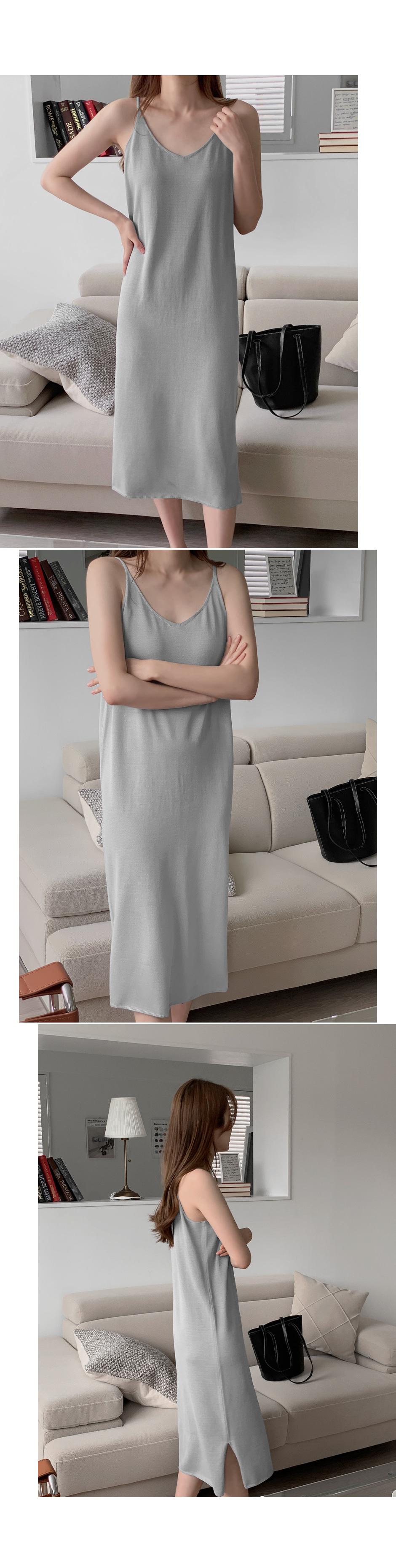 Moan Bustier Knitwear Dress - 4 color