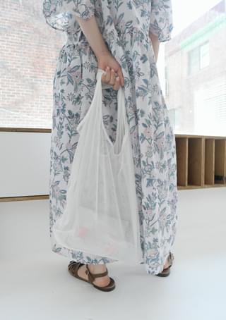 see-through mesh bag