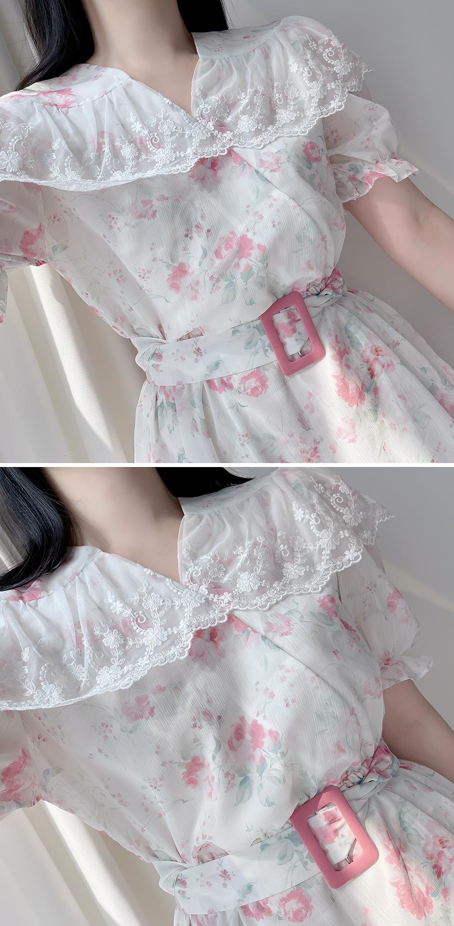 Isabelle Floral Dress 2color