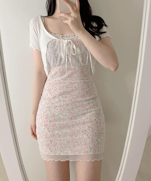 Marlon Lace Sleeveless Dress 2color