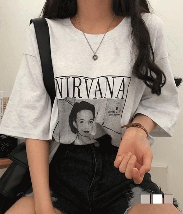 Bana Vintage Print Box T-shirt