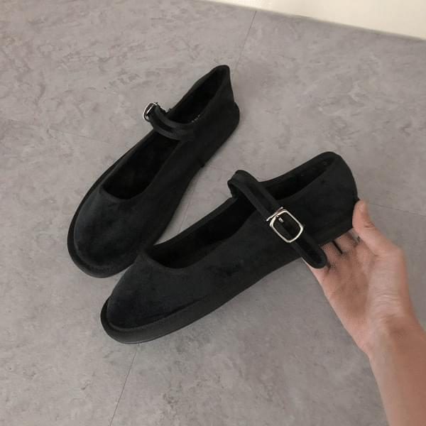 Suede, Mary Jane flat shoes 平底鞋