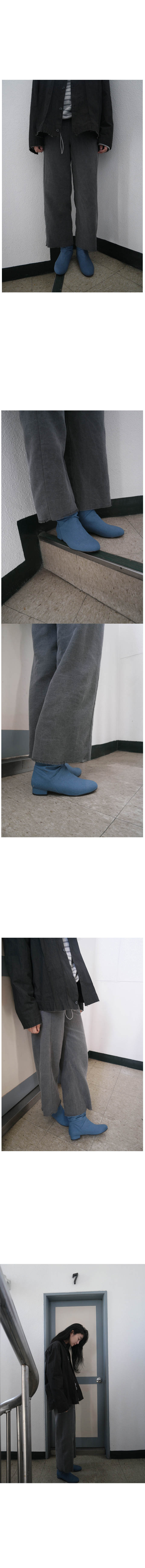 linen wrinkle boots