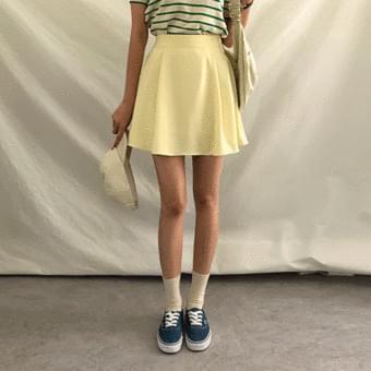 Salangsalang, pintuck flare mini skirt