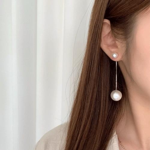 Pearl Drop Earrings 3color A#YW026