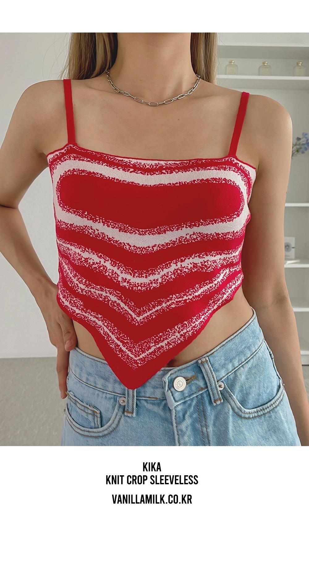 Kika Knitwear Crop Bustier
