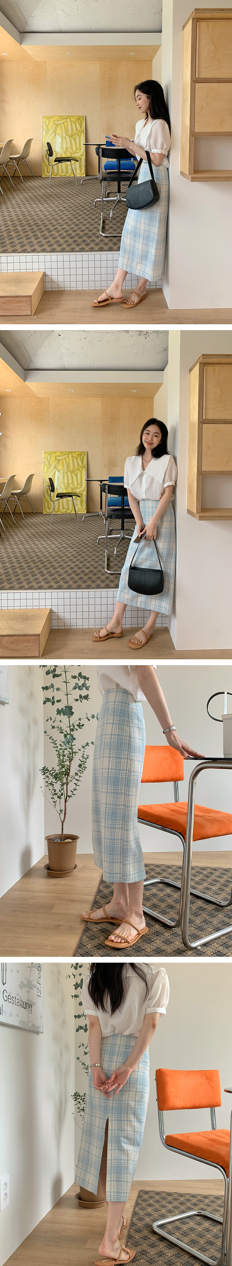 Flat Square Strap Slippers