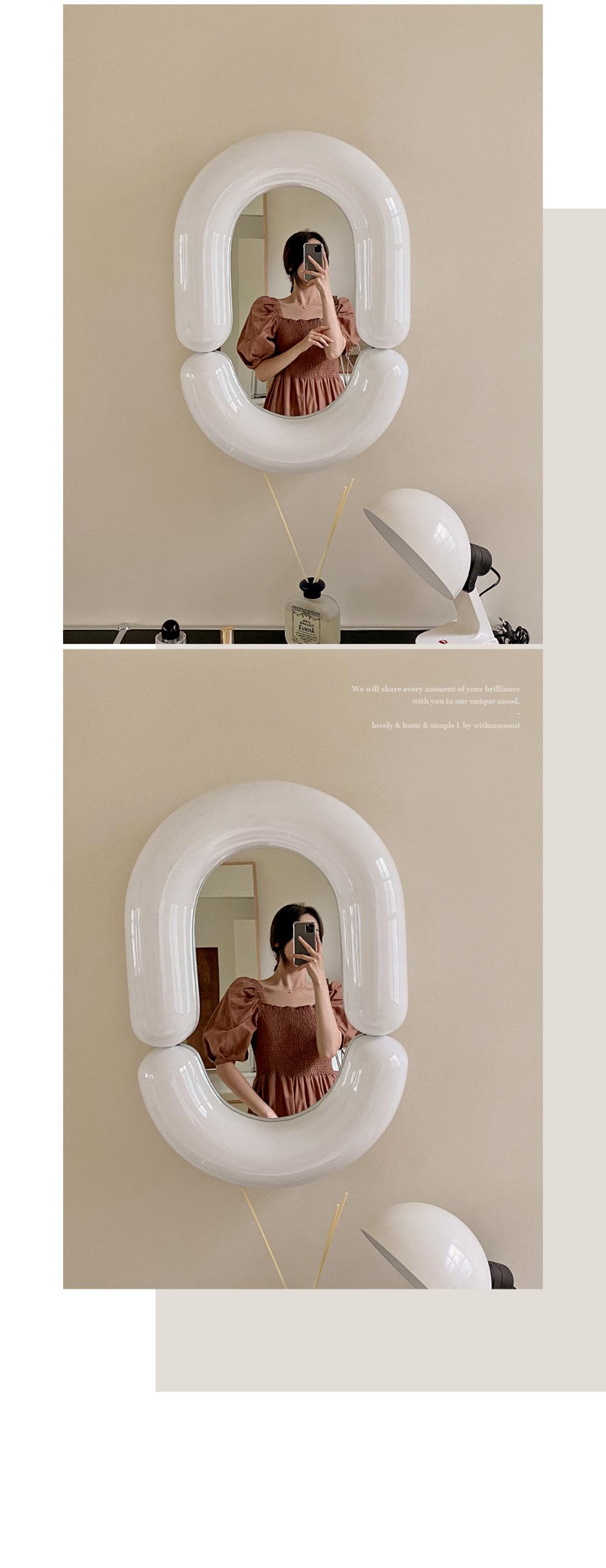 Mode Smoke Balloon Dress - 2color