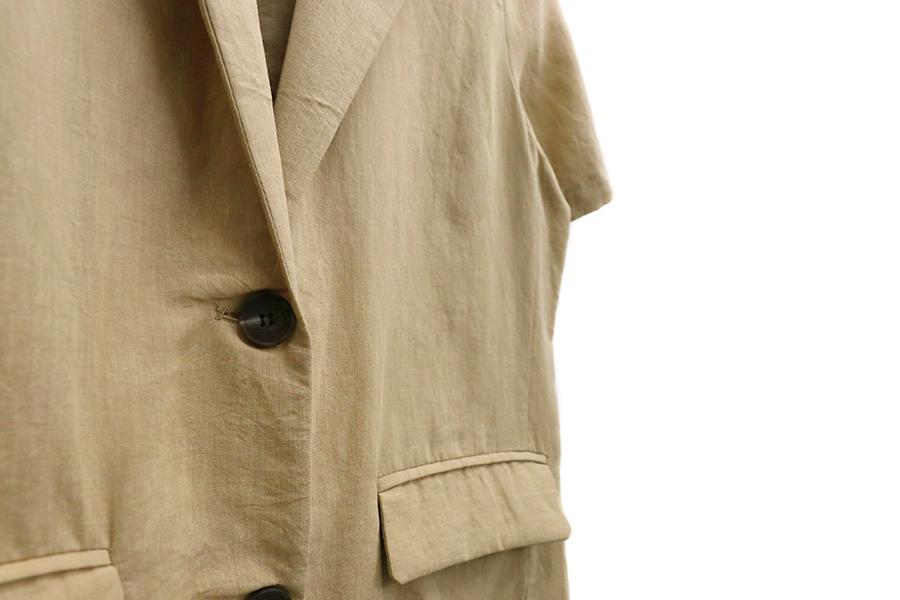 Normal mood short sleeve jacket