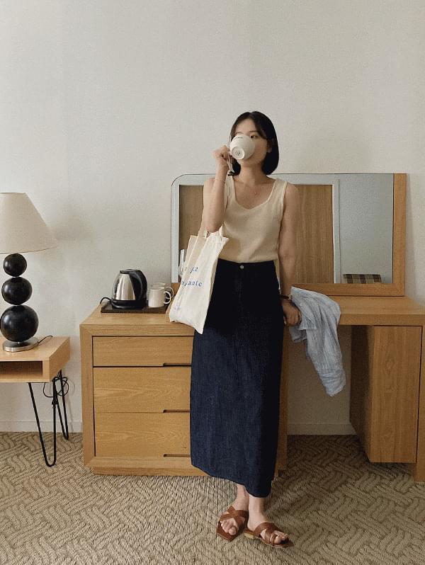 Oreo Long Skirt