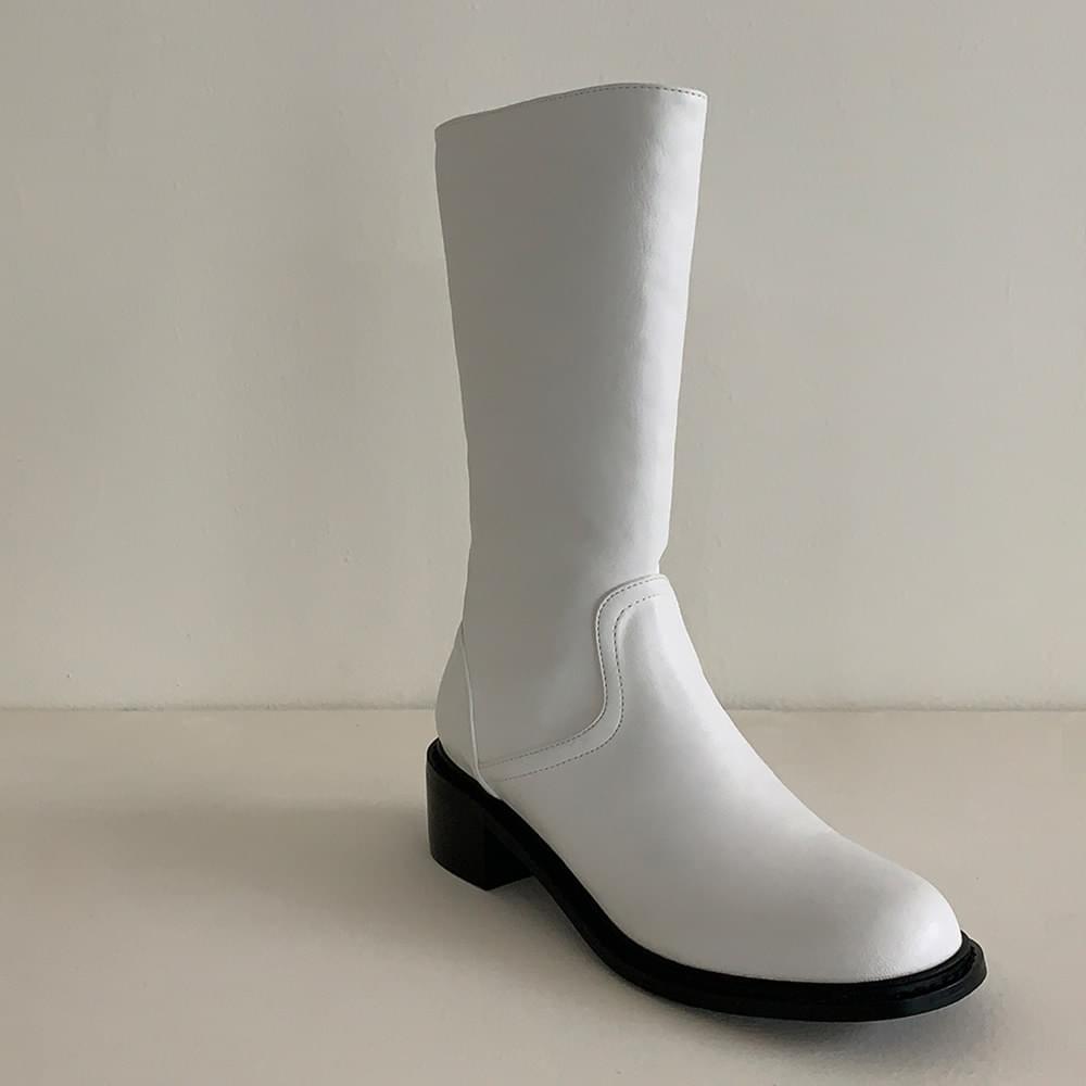 Slim Half Boots