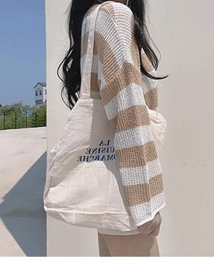 LA lettering eco bag