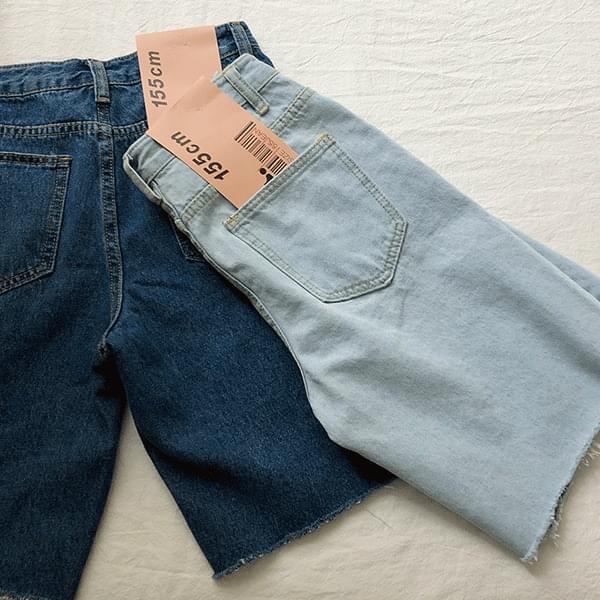 5 cut Spandex denim pants 短褲