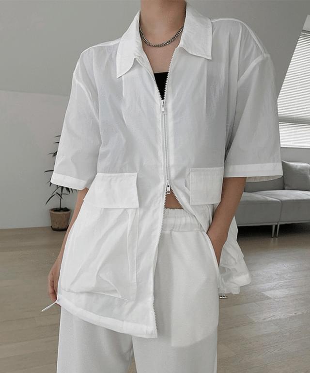 Diane Summer Nylon Short Sleeve Jacket