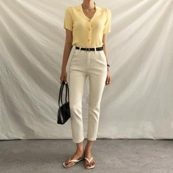 Four Seasons Slim Date Spandex Cotton Pants