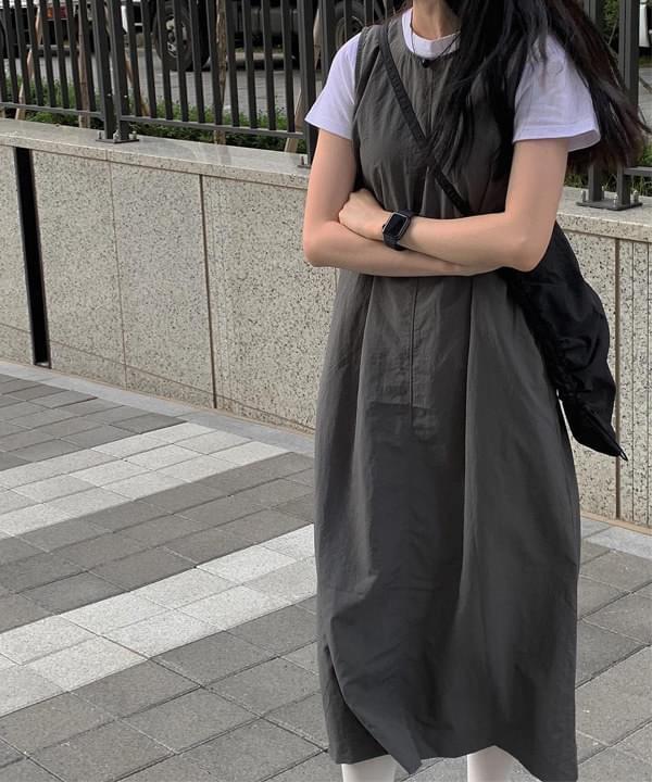 Nylon Cole Sleeveless Dress