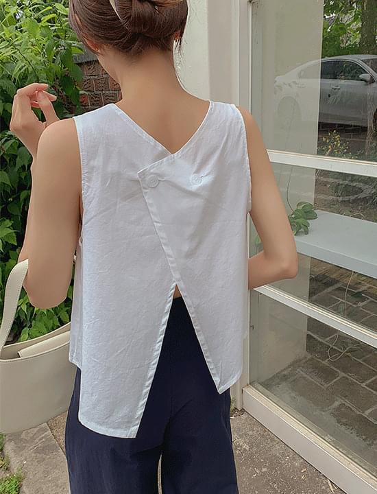 Fresh Linen Reversible Sleeves 無袖