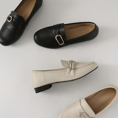 Western buckle loafers NE LFLTR1c031
