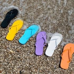 Marshmallow Lightweight Split Slippers