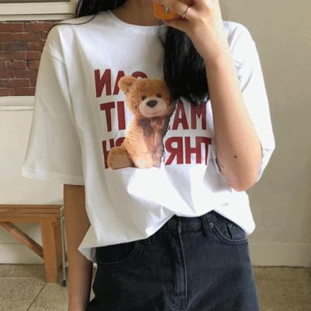 teddy bear short sleeve t