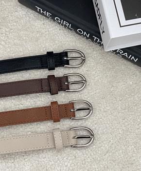 Icket leather belt