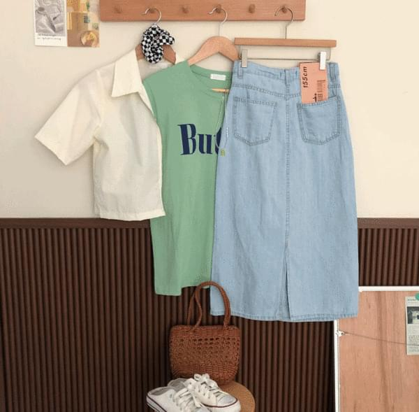 Domestic, short-sleeved collar wind zip-up