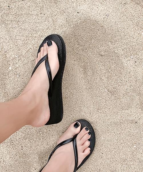 Short Cats Sponge Short 3cm Middle Whole Heel Slippers