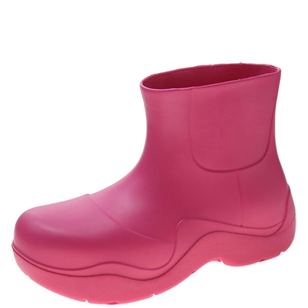 Lightweight Jelly Rain Boots Pink