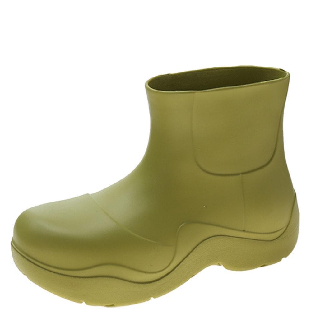 Lightweight Jelly Rain Boots Green