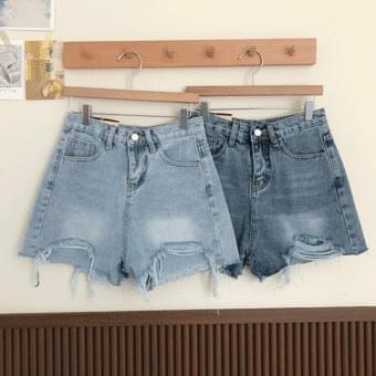 Vintage Short Denim Pants