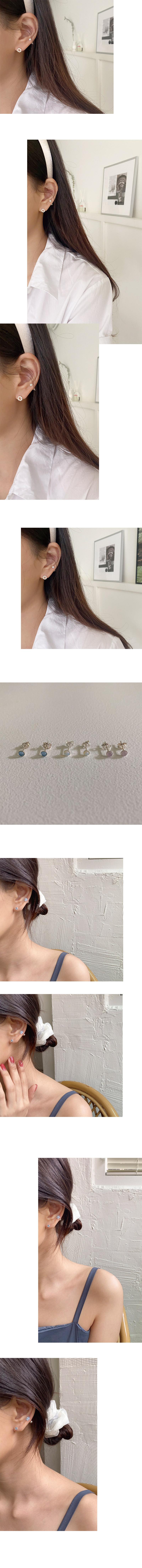 dew stone earring
