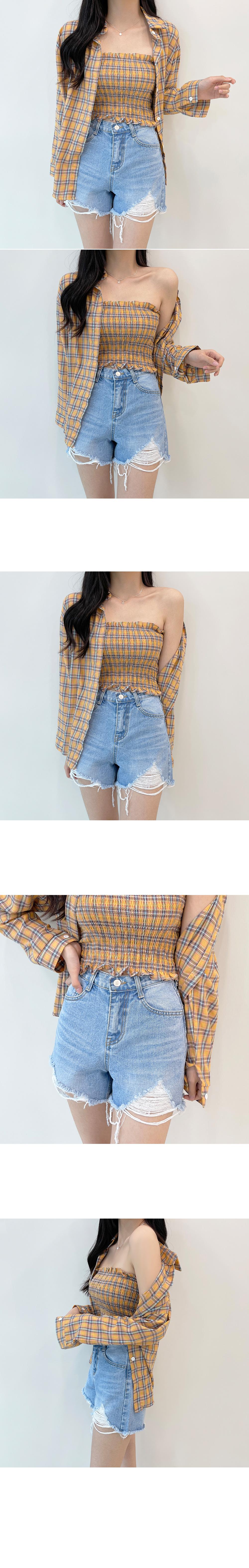 Cool summer evenings, Vintage denim Faded Shorts