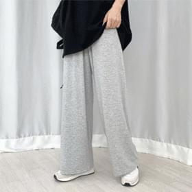 Spandex wide pants