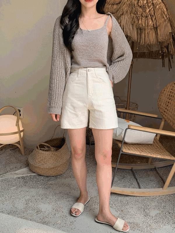 French Cotton 4-Part Pants