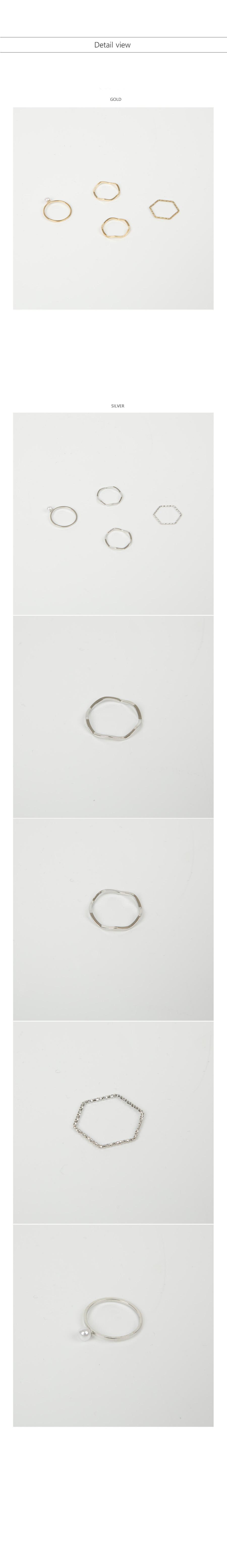 Friends Ring Set