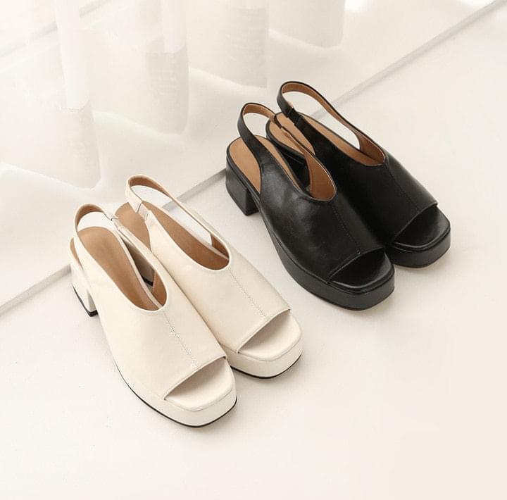 Open Toe Slingback Sandals