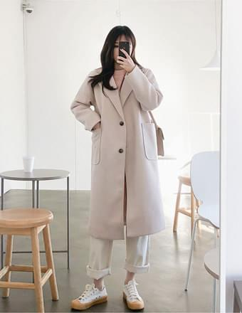 Maybe Love #Long coat