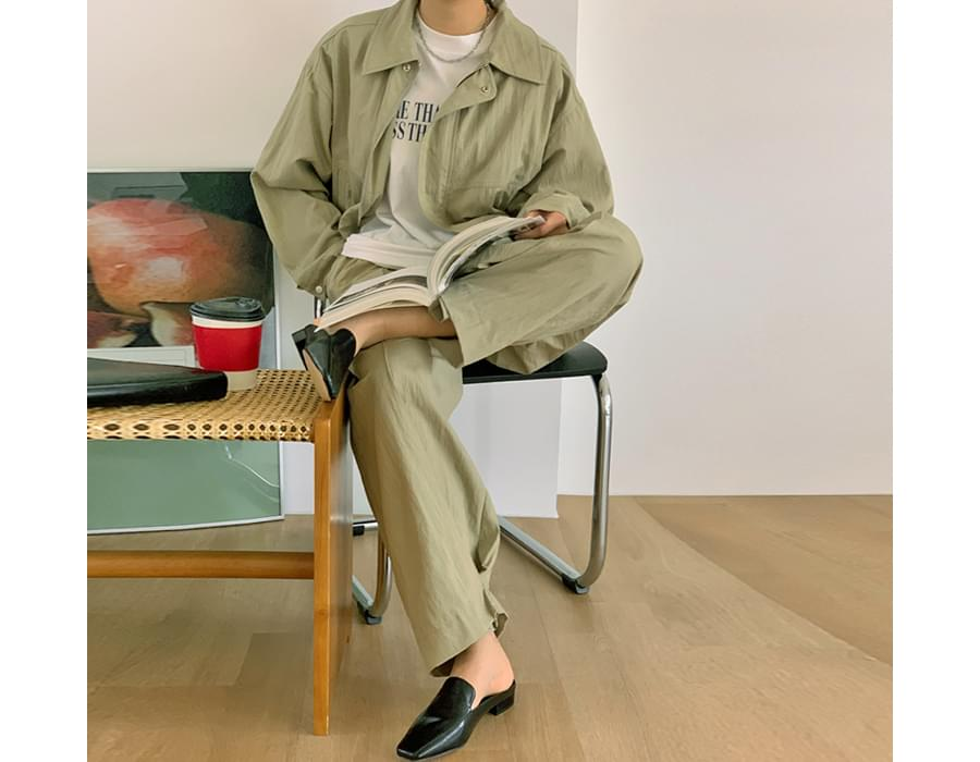 Loti ankle point wide pants