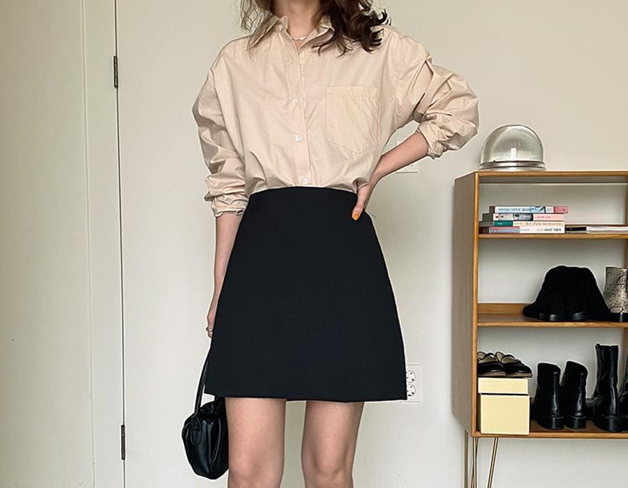 Vivienne cotton pocket shirt