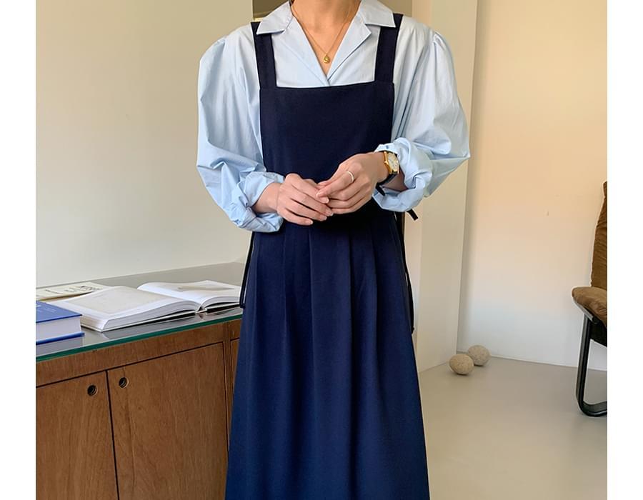 Eve Ribbon Layered Dress