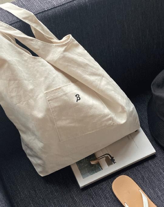 Vissel Lettering Eco Bag - 2 color