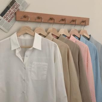 Essential to own # Pocket Basic Shirt