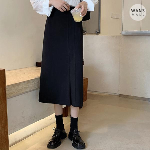 sk5167 Marshall Pleated Point Midi Skirt (Delayed delivery)