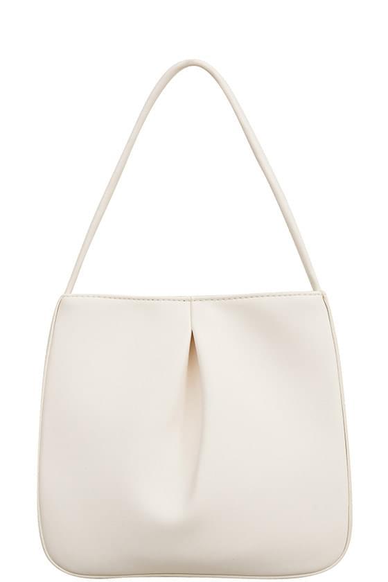comfort shirring tote bag