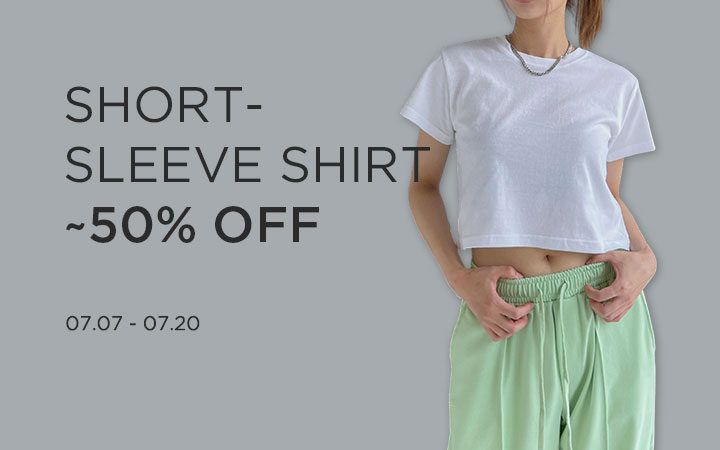SHORT- SLEEVE SHIRT ~50% OFF